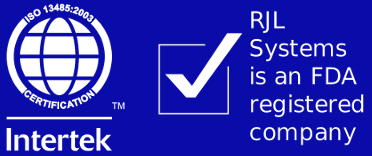 RJL Systems is ISO-13485 Certified and FDA-Regulated
